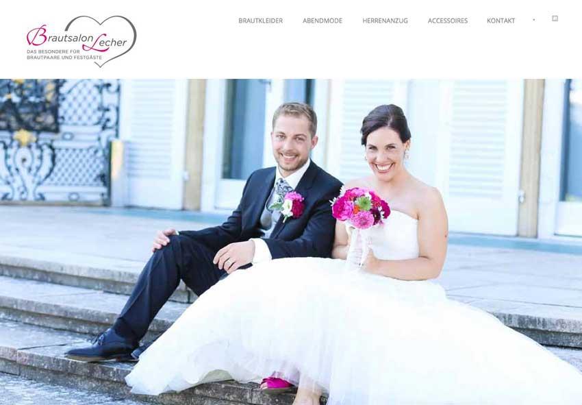 Brautmode Lecher Online Marketing Seo Web Design Agentur